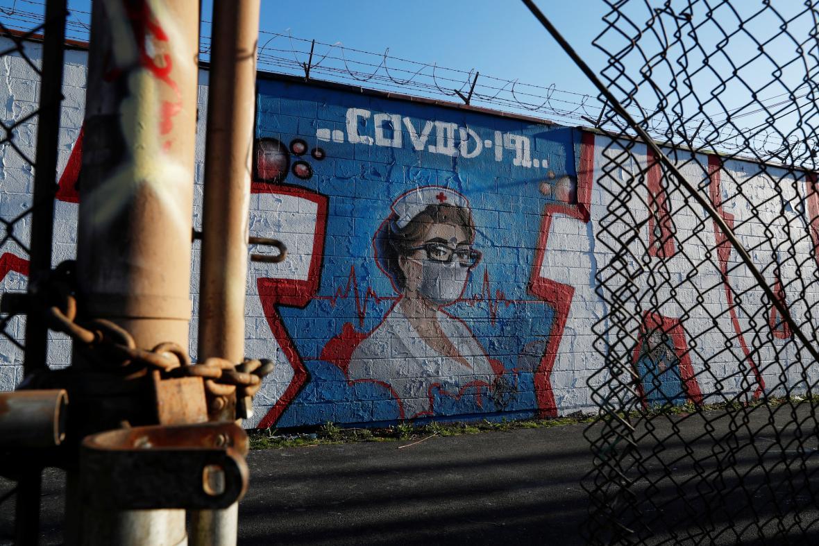 Pouliční malba v Chicagu