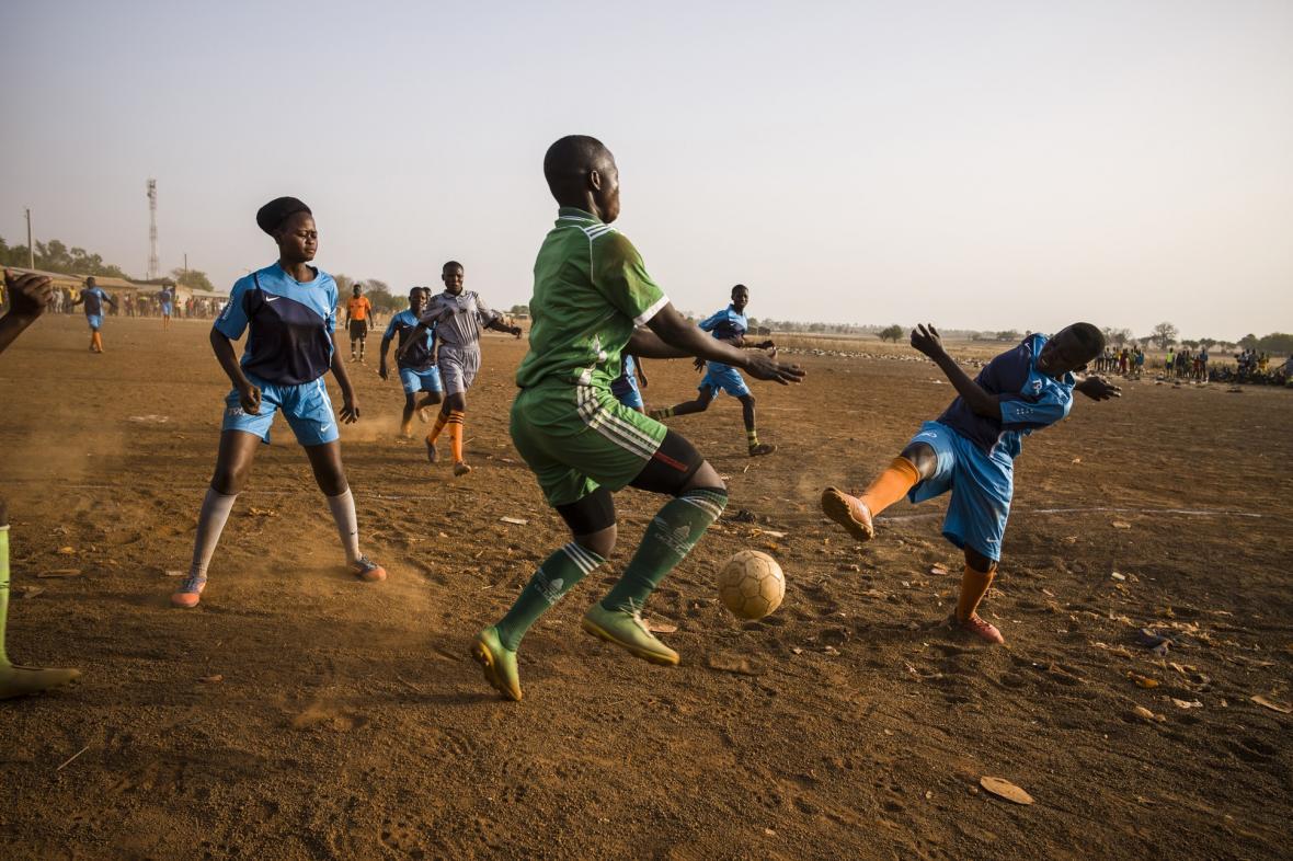 Snímky v kategorii Sport na World press photo 2020