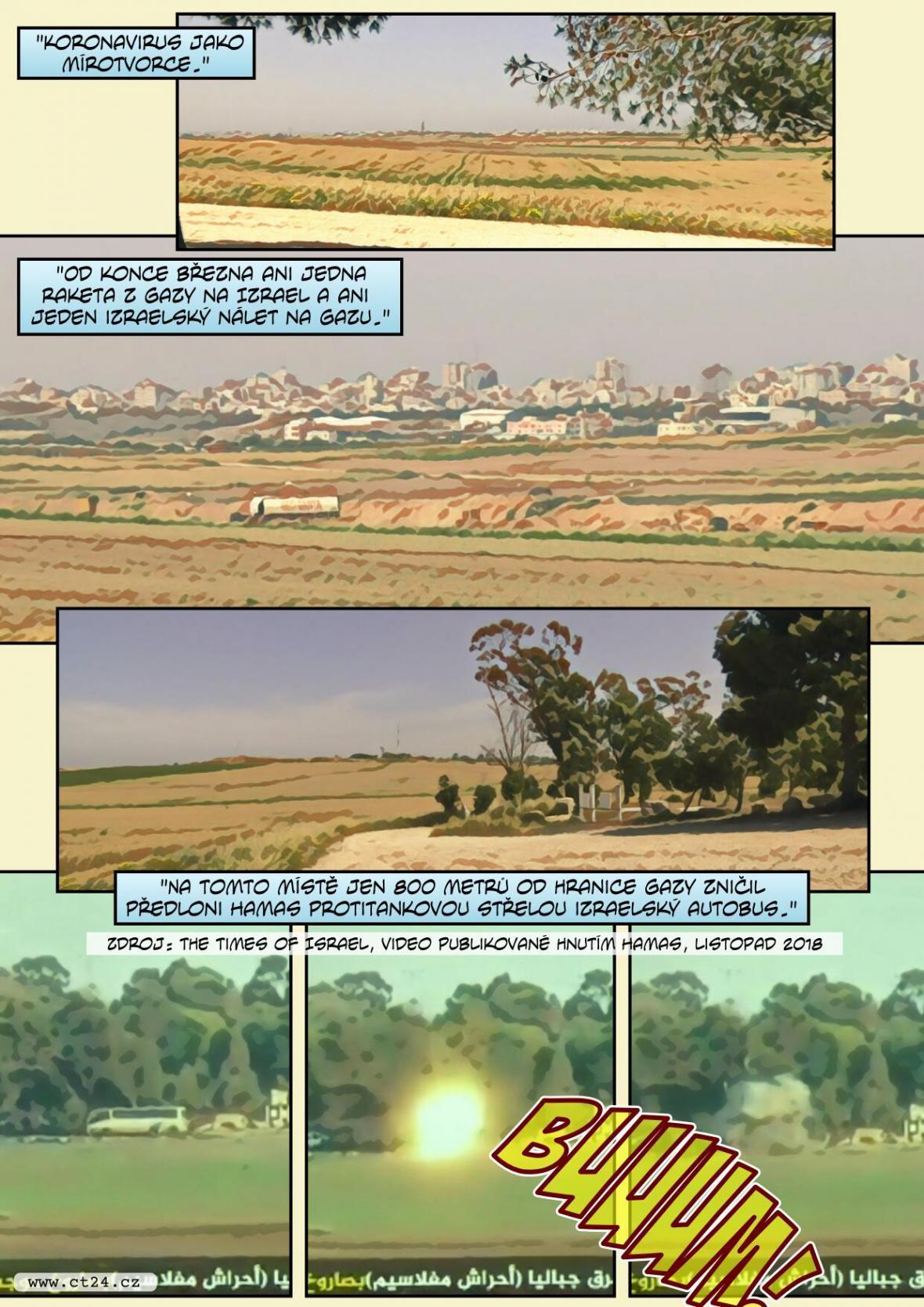 Bezprecedentní klid v jižním Izraeli