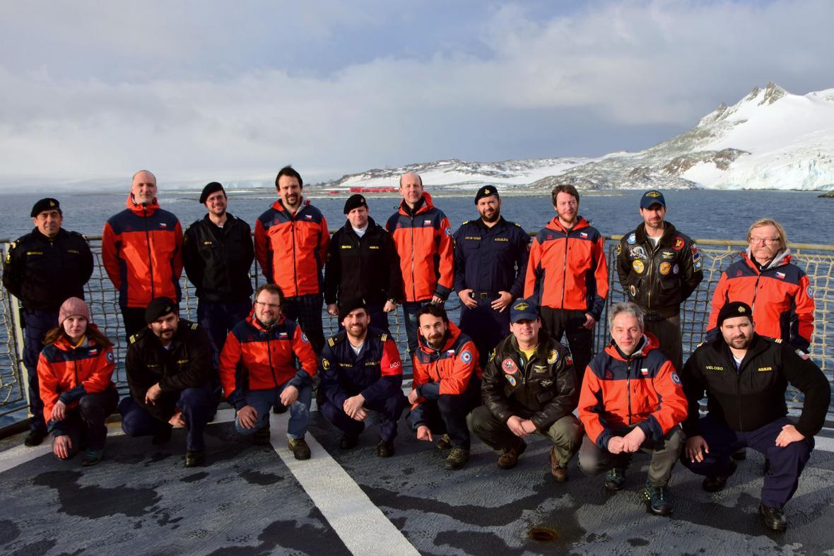 Česká antarktická expedice 2020