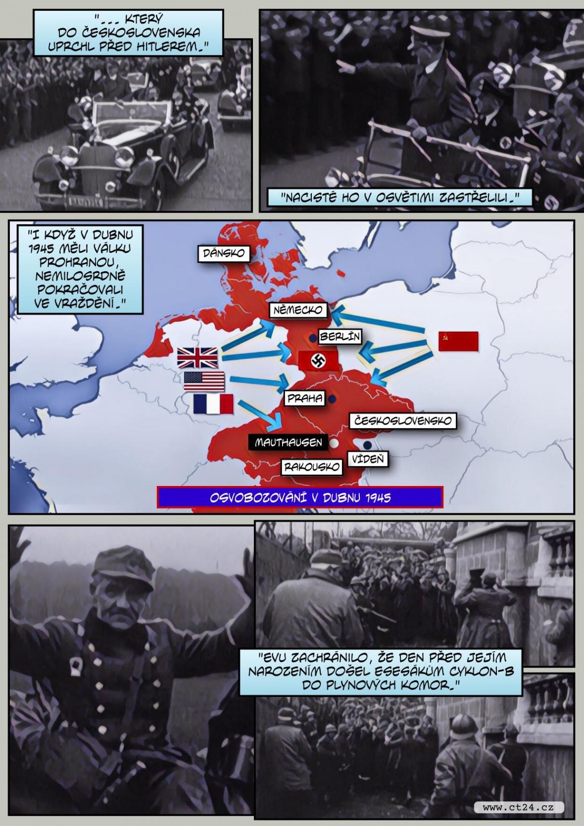 75 let od osvobození Mauthausenu