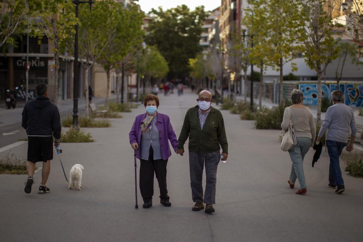 Barcelona v době koronaviru