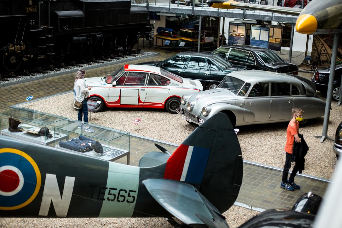 Národní technické muzeum se po ukončení nouzového stavu otevřelo pro návštěvníky