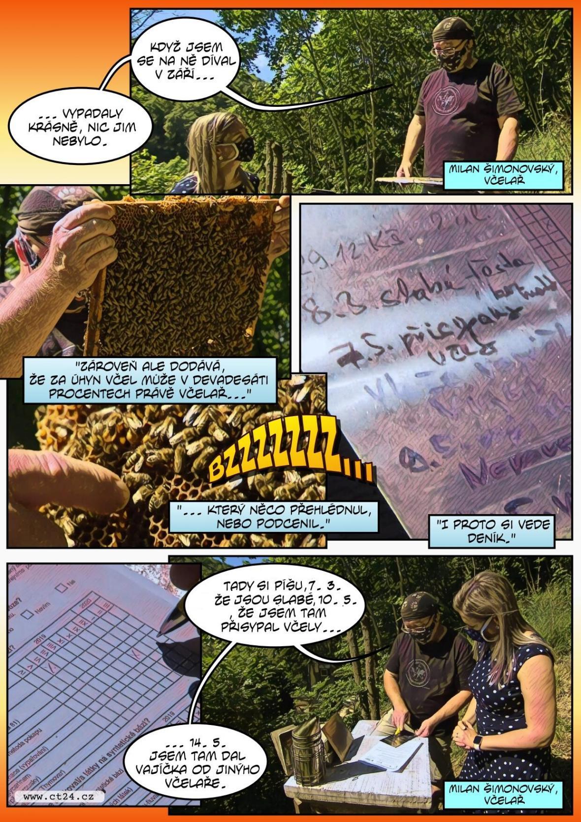 Včelstva v Čechách vymírají
