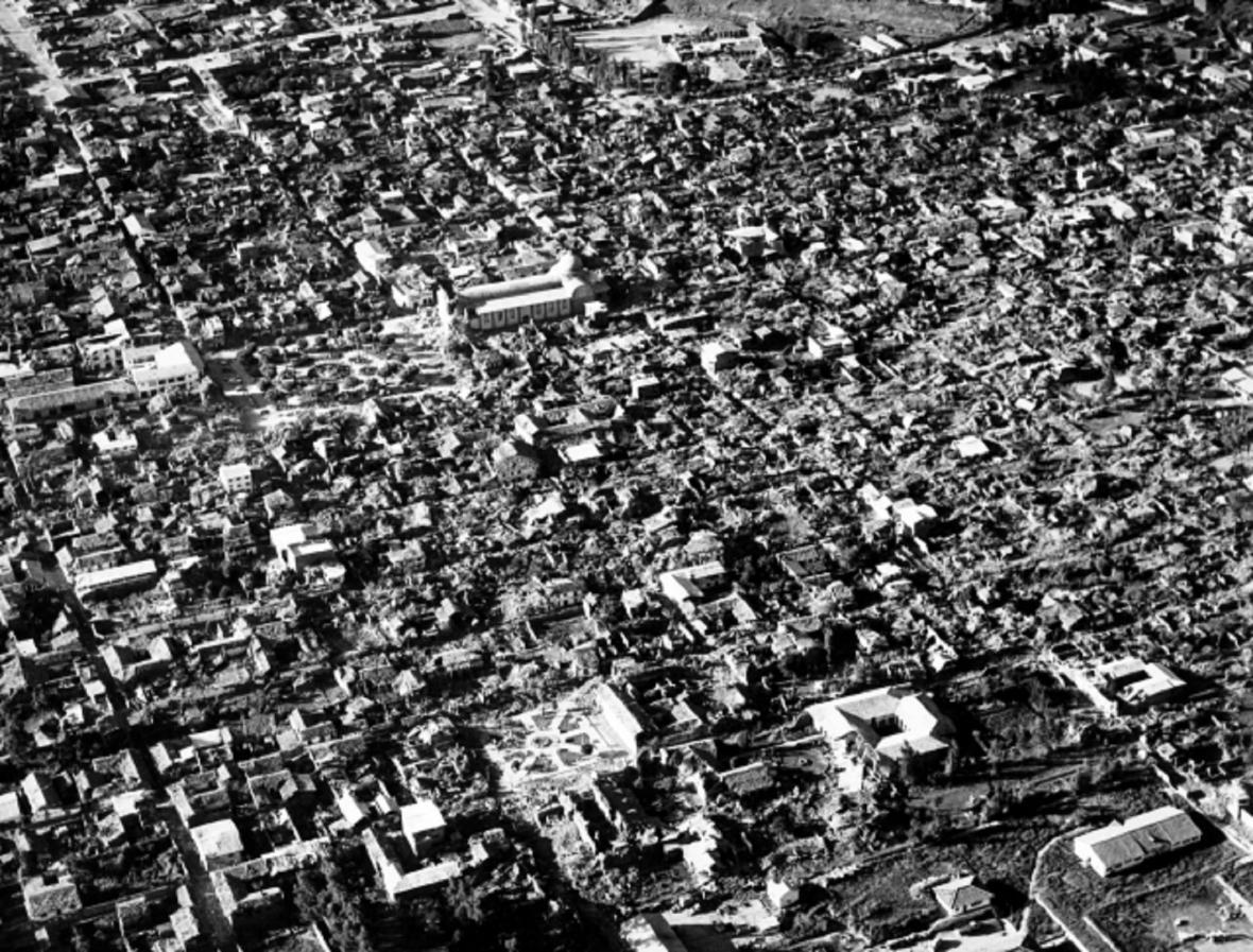 Zemětřesení v Peru zabilo 31. května 1970 nejméně 70 tisíc lidí