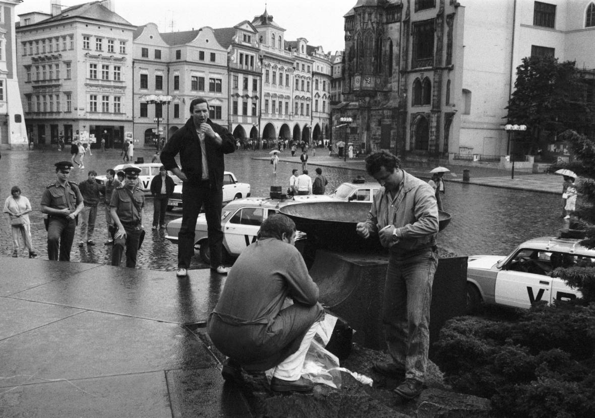 Vyšetřování výbuchu na Staroměstském náměstí