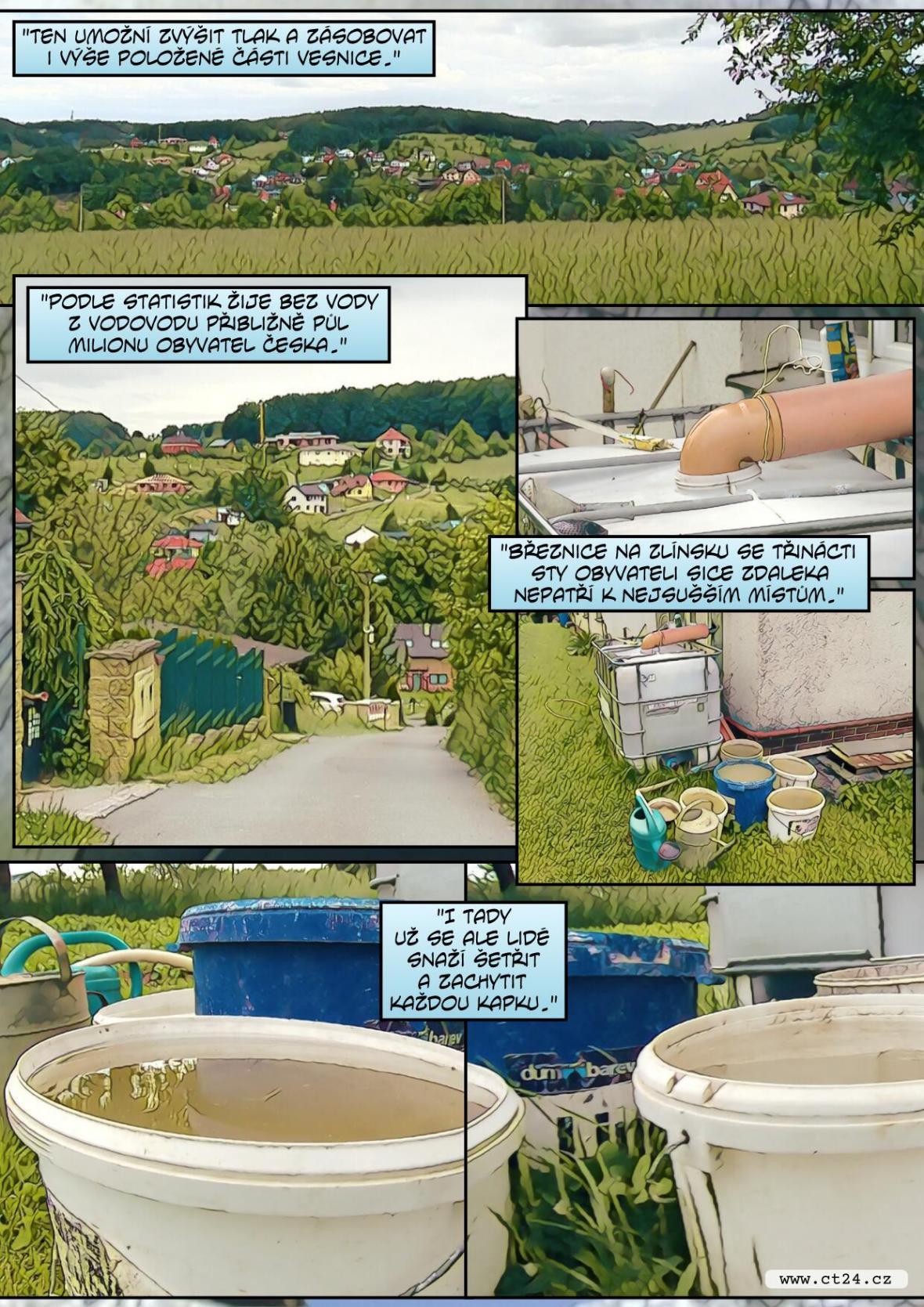 Sucho může ohrozit soukromé studny