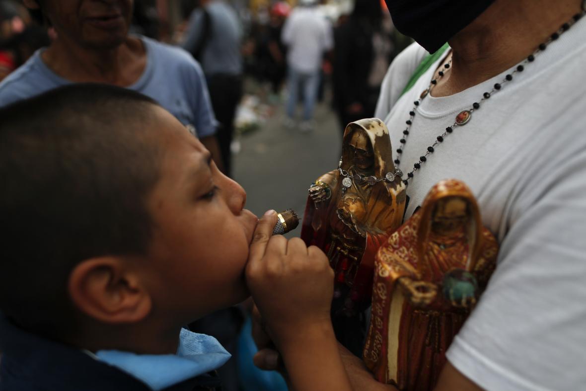Kult Svaté smrti (Santa Muerte)