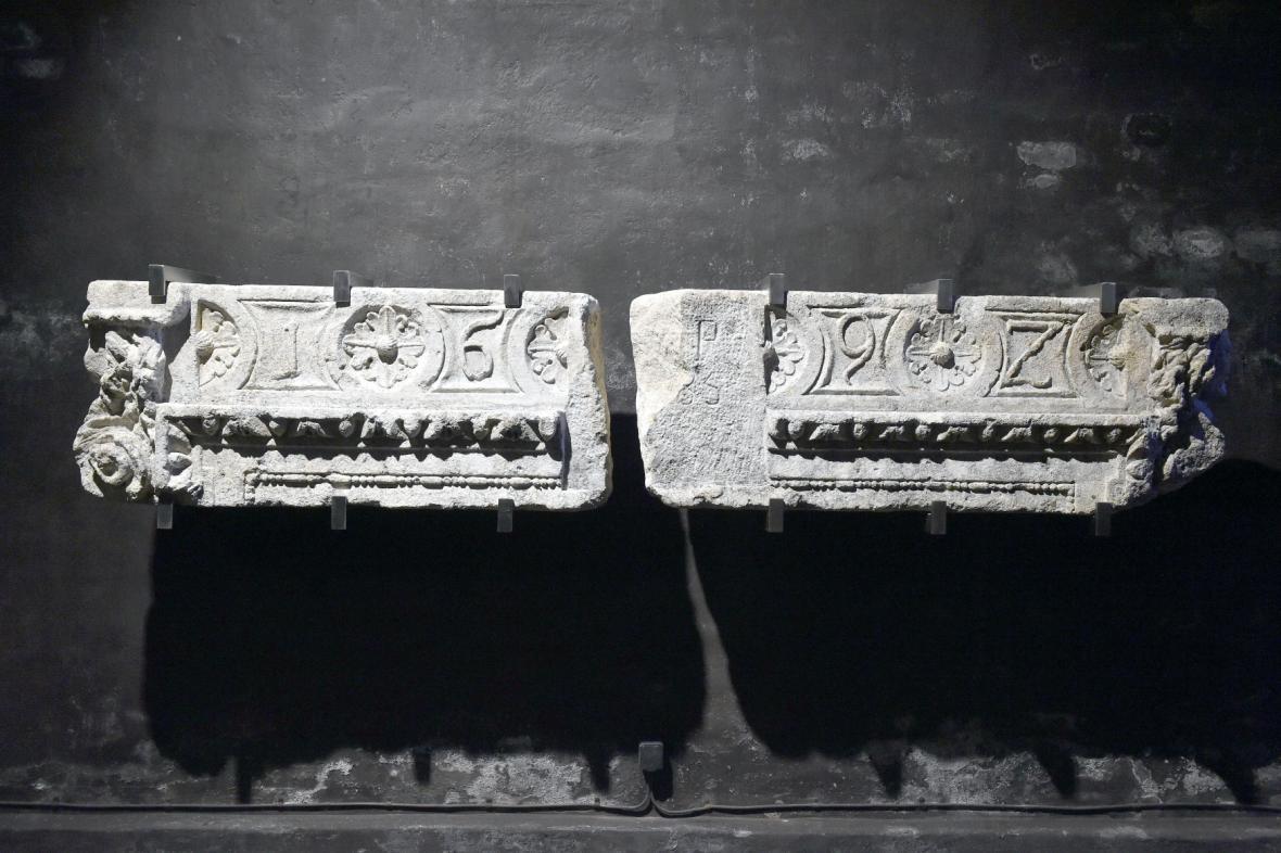 Lapidárium v bývalých vodojemech pod Špilberkem