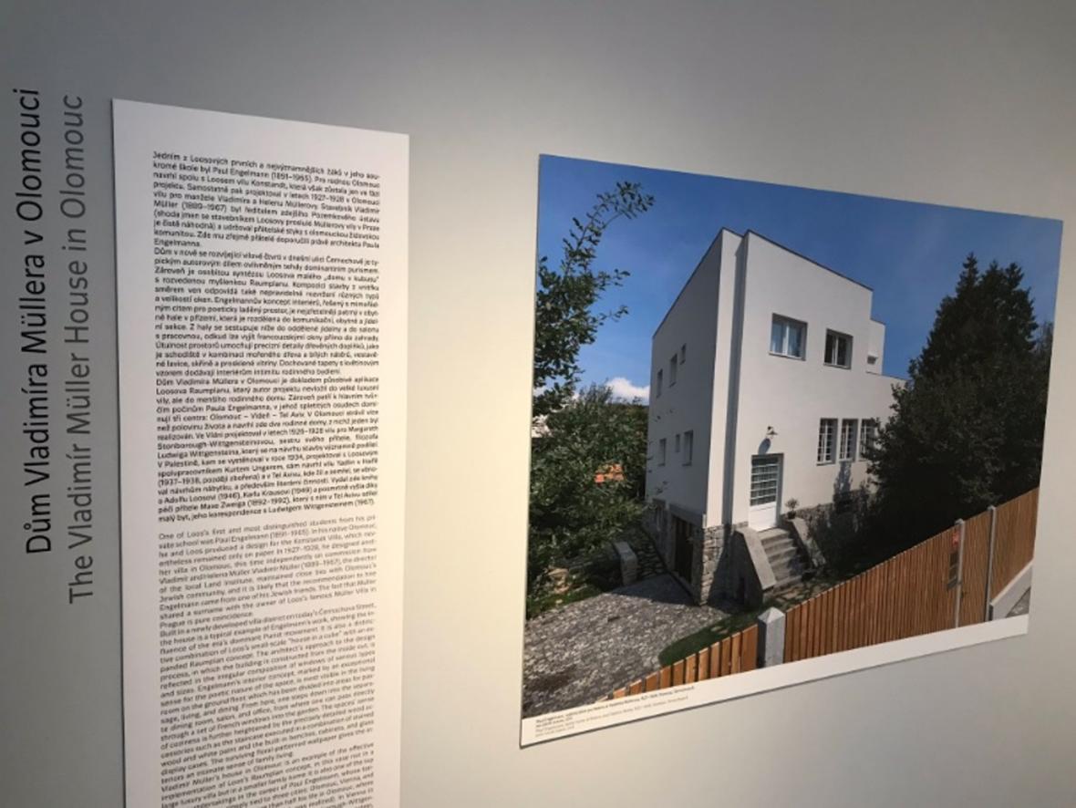 Výstava k výročí narození Adolfa Loose na Špilberku