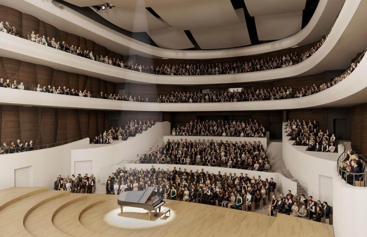 Upravená podoba Janáčkova kulturního centra