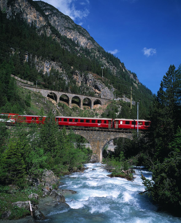 Albulská železnice
