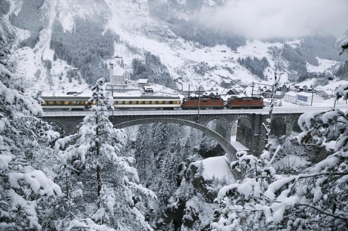 Gotthardská dráha