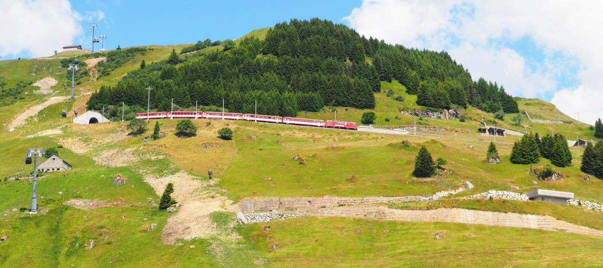 Alpská železnice