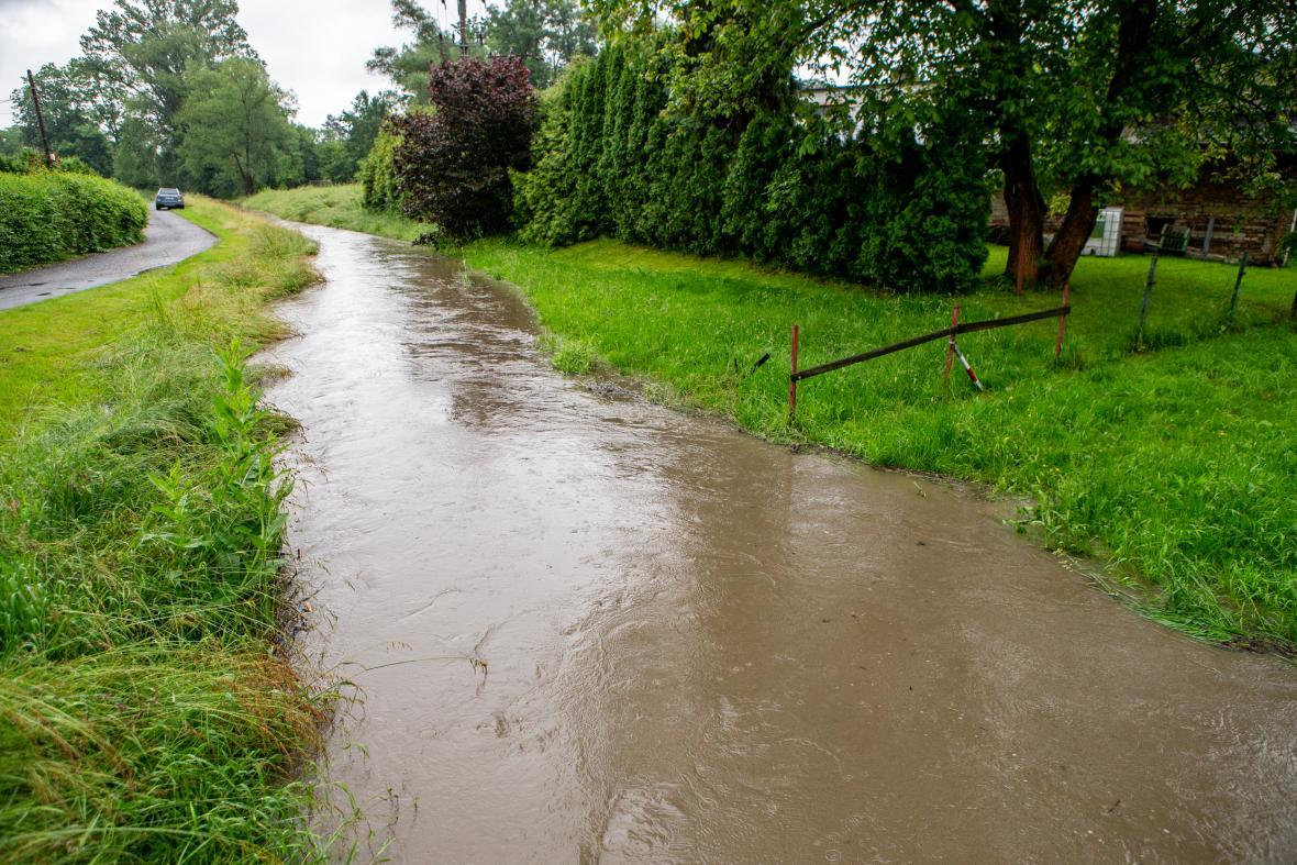 V Moravskoslezském kraji stoupají hladiny řek