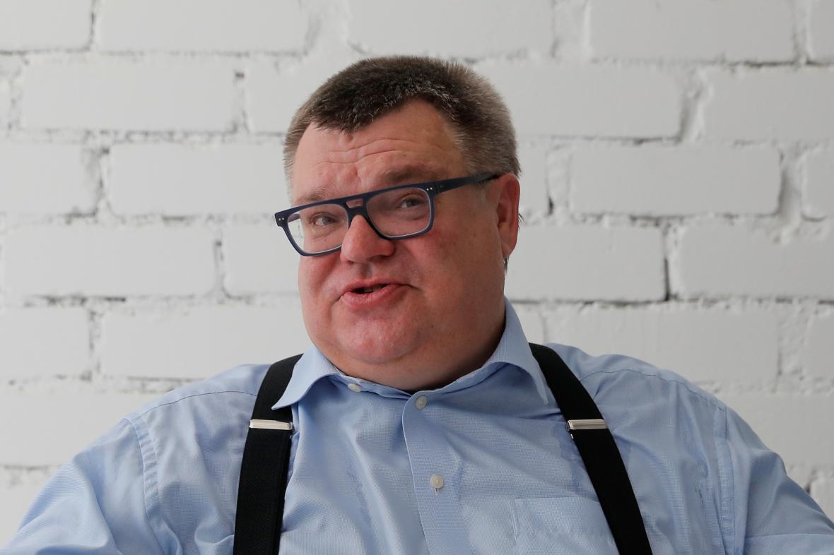 Běloruský prezidentský kandidát Viktar Babaryka