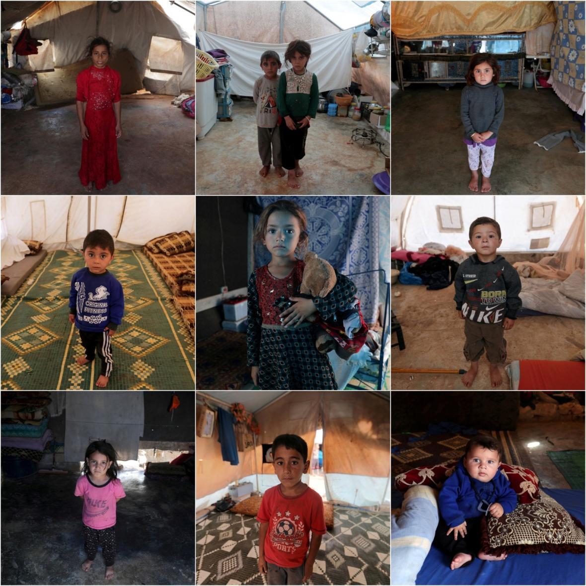 Syrské děti, které neznají domov