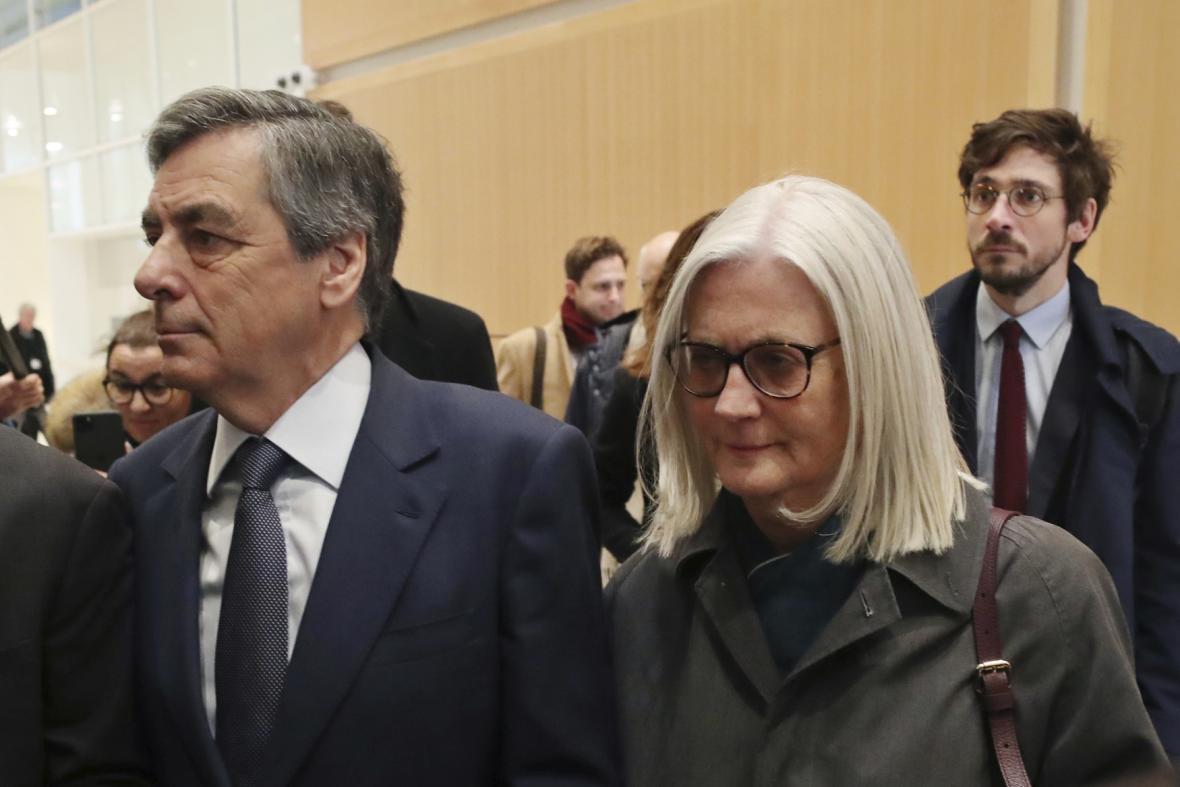 François Fillon s manželkou