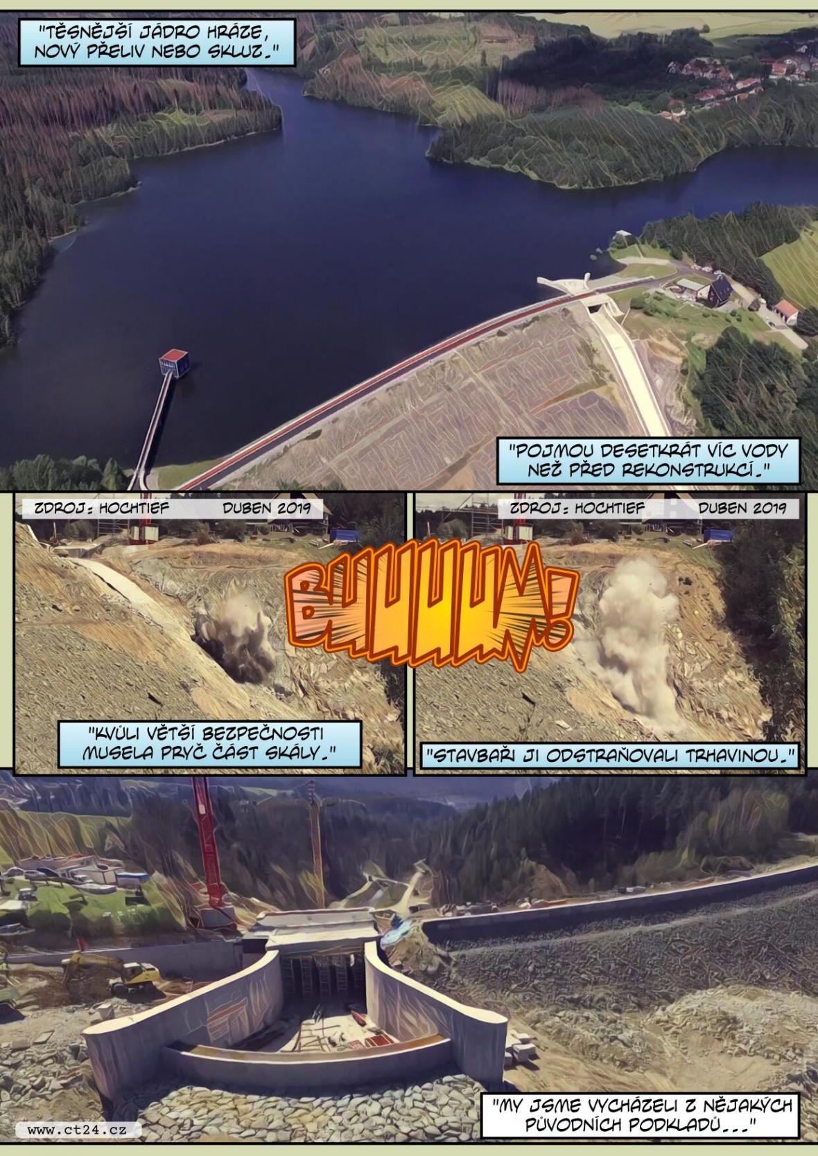 Hráz Boskovické nádrže je opět přístupná