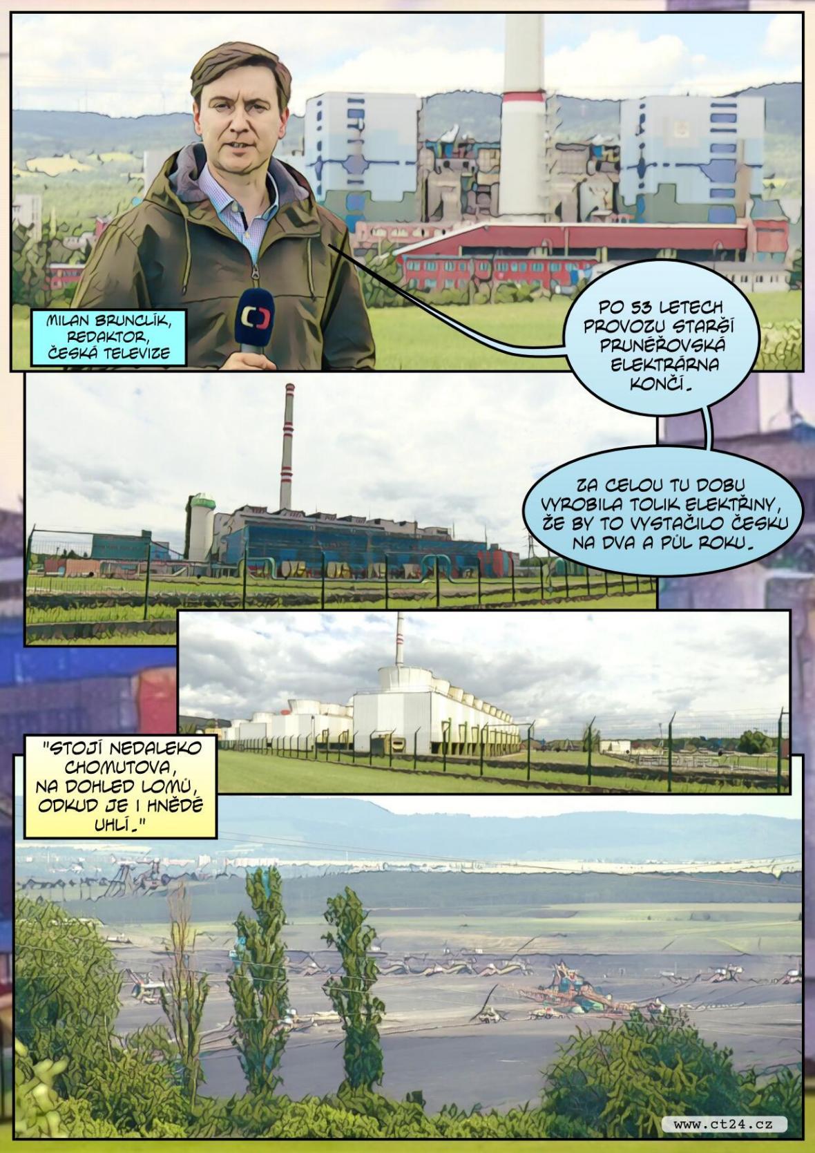 Konec uhelných elektráren v Česku se blíží