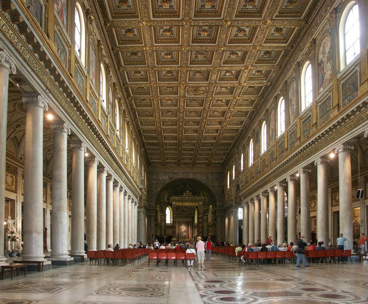 Bazilika Santa Maria Maggiore [neboli Panny Marie Sněžné