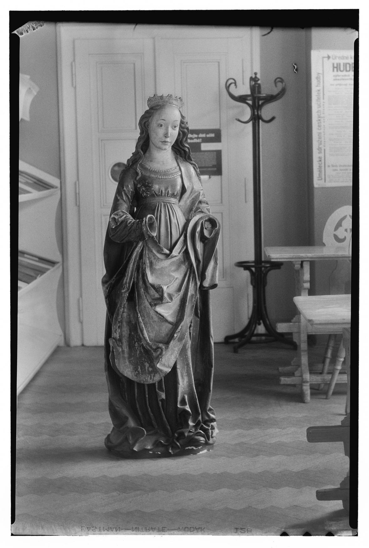 Z výstavy Fešandy ze šuplíků. Sudek a sochy
