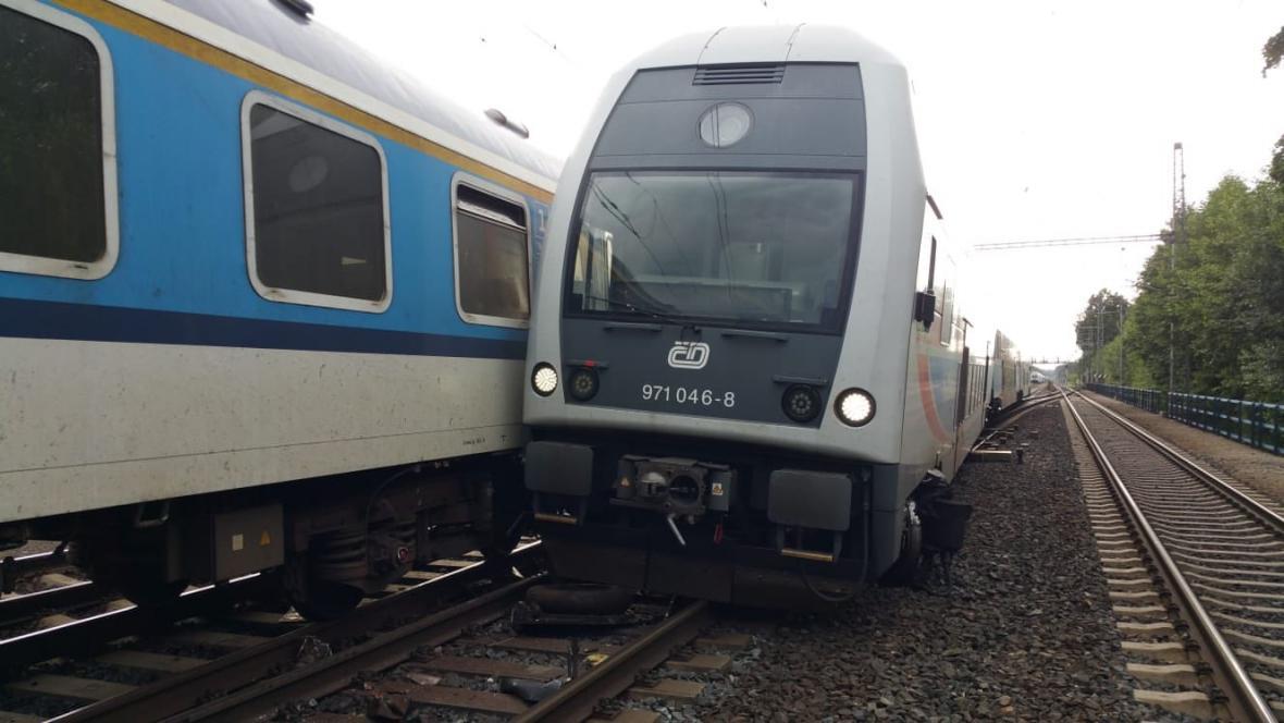 Střet vlaků v Běchovicích