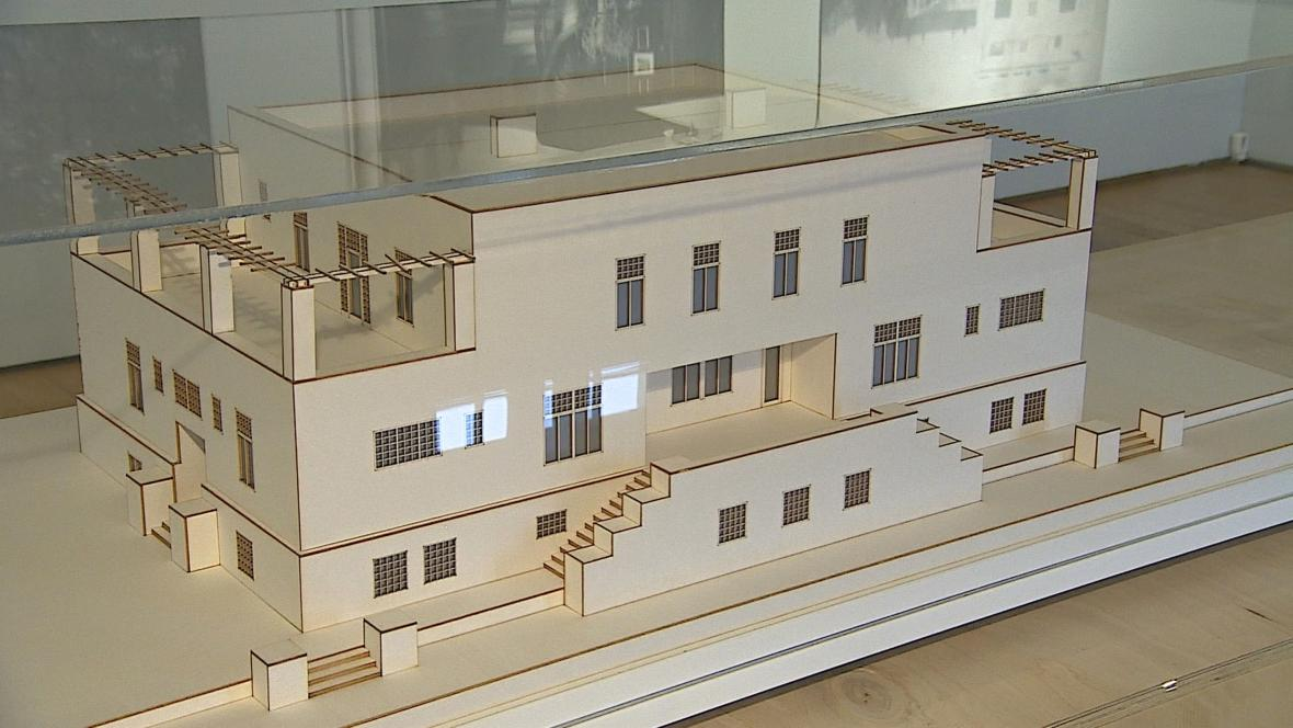Bauerova vila od Adolfa Loose v Hrušovanech u Brna