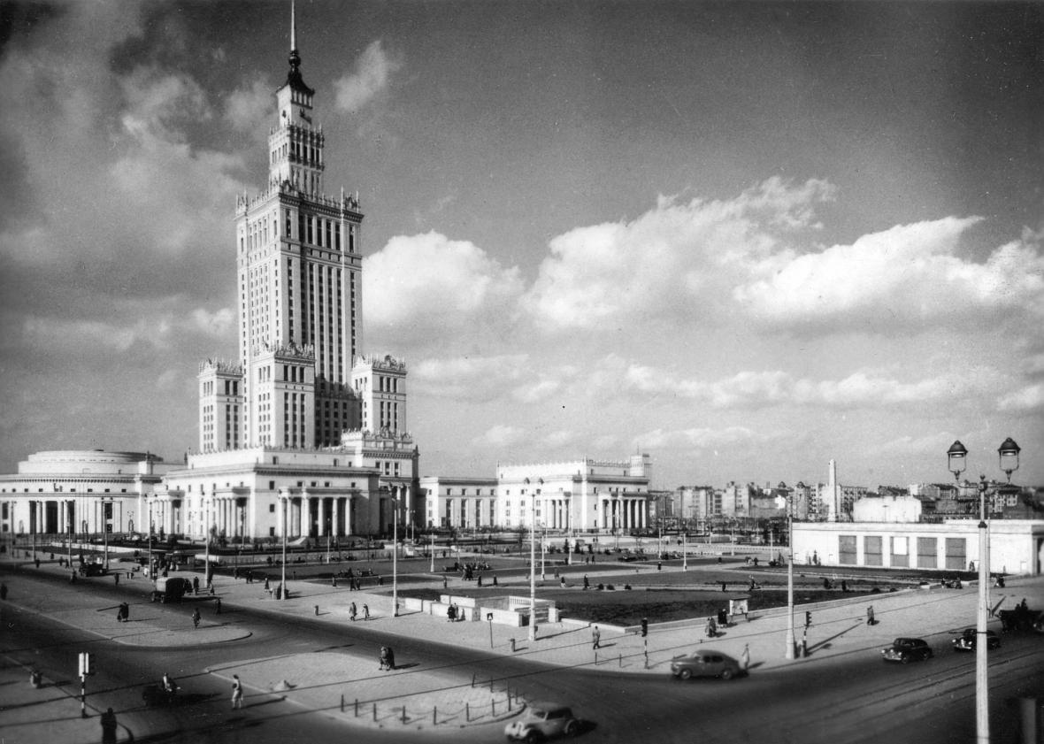 Palác kultury a vědy ve Varšavě