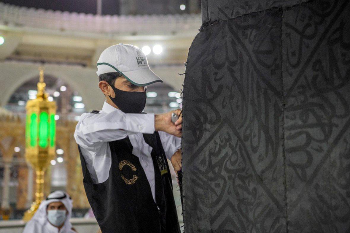 Přípravy na omezenou pouť do Mekky