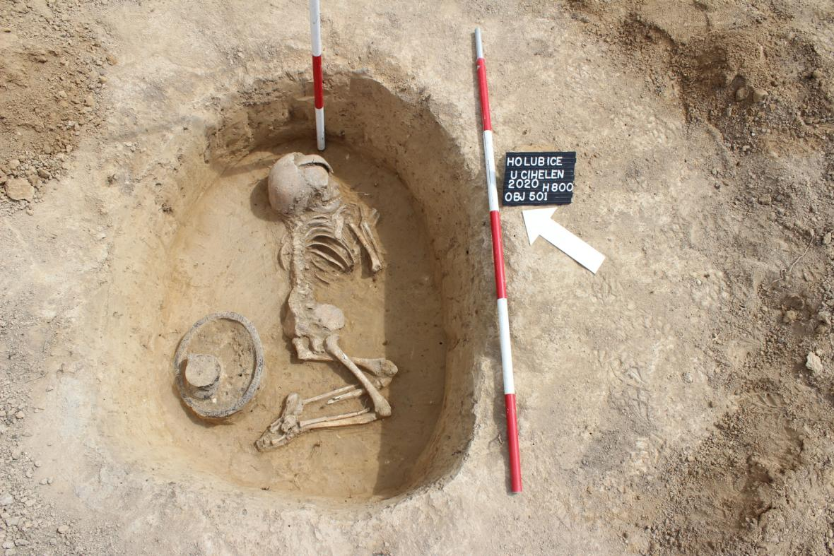 Archeologický průzkum u Holubic na Vyškovsku