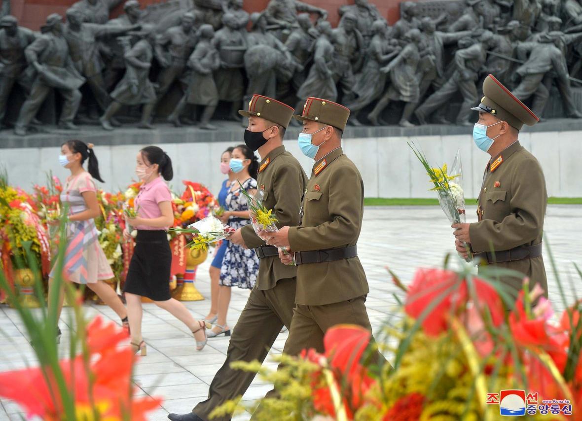 Severokorejci si připoměli 67. výročí od ukončení válečného korejského konfliktu 27. června 1953