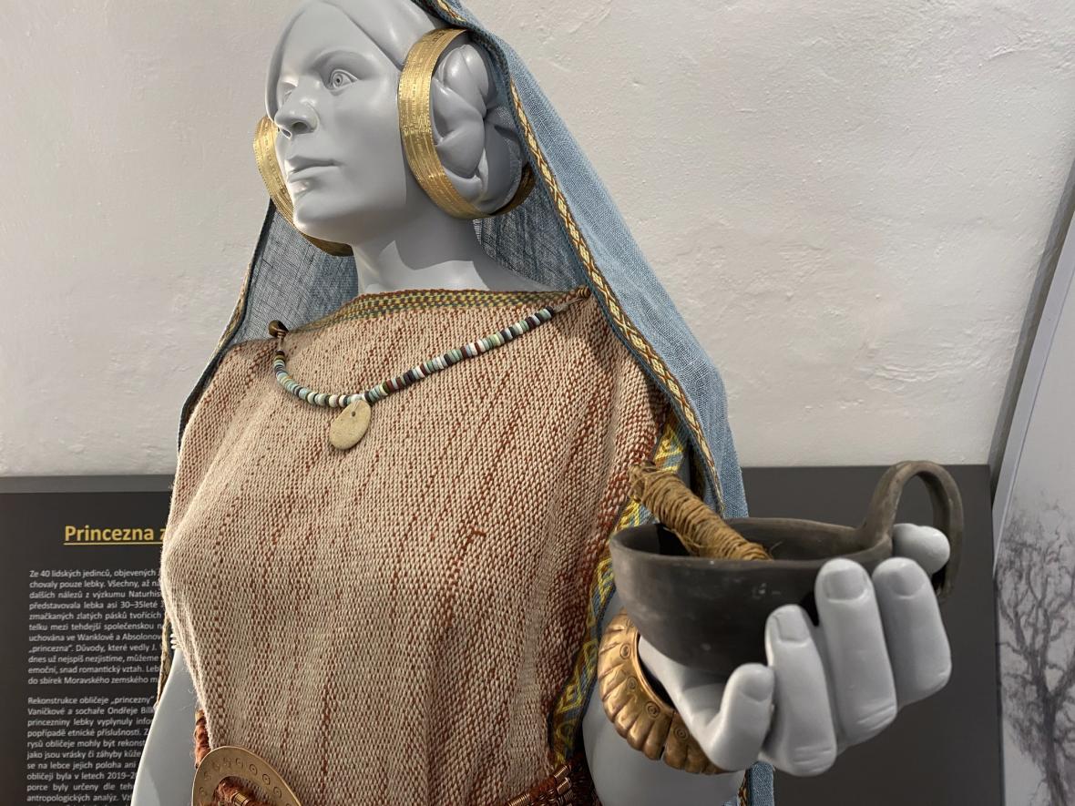 Rekonstrukce princezny z Býčí skály