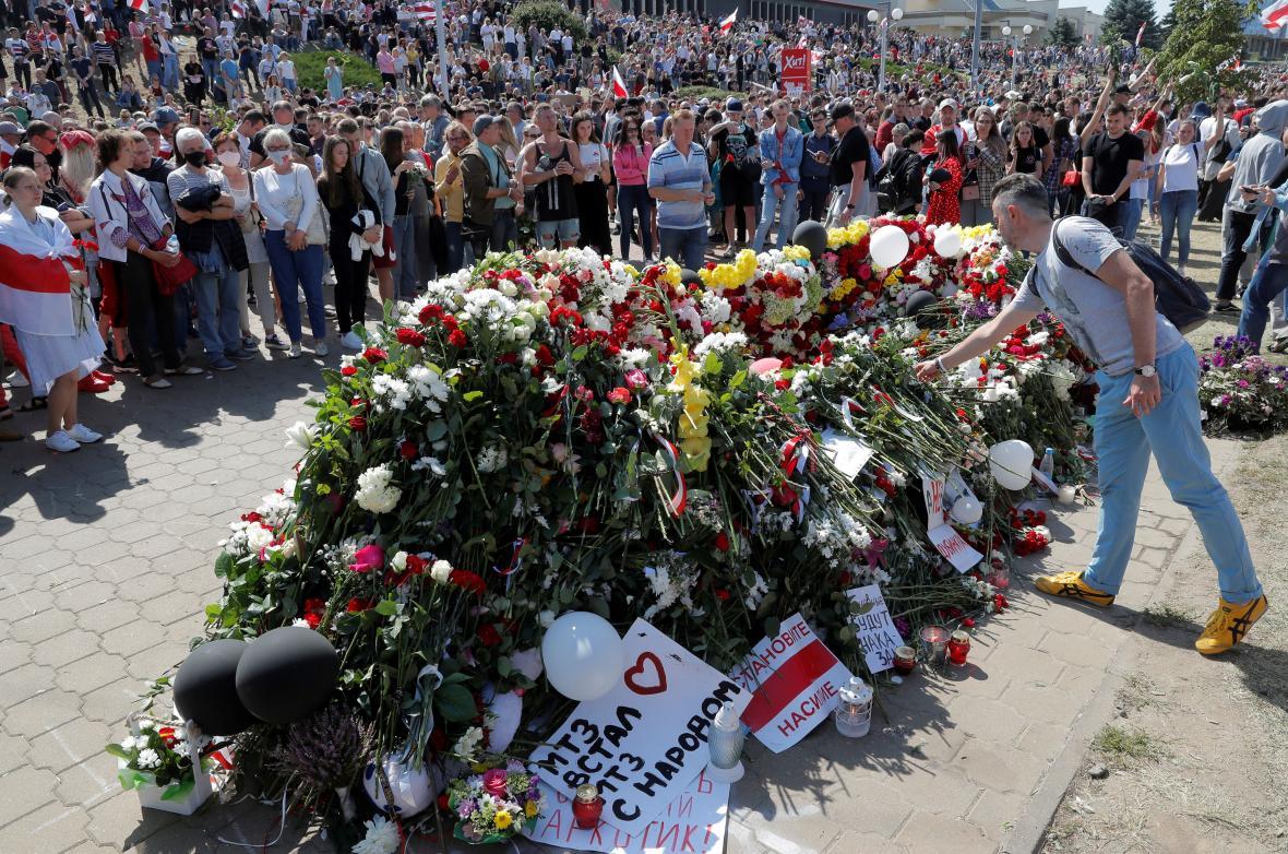 Sobotní akce v Minsku