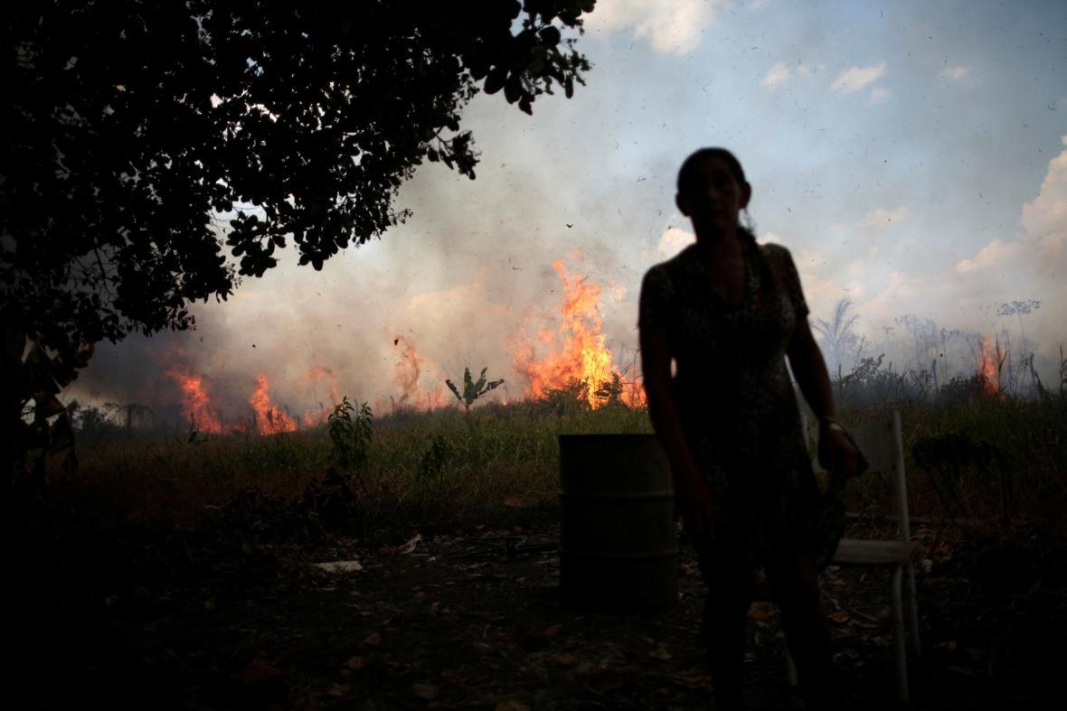 Amazonské pralesy v plamenech