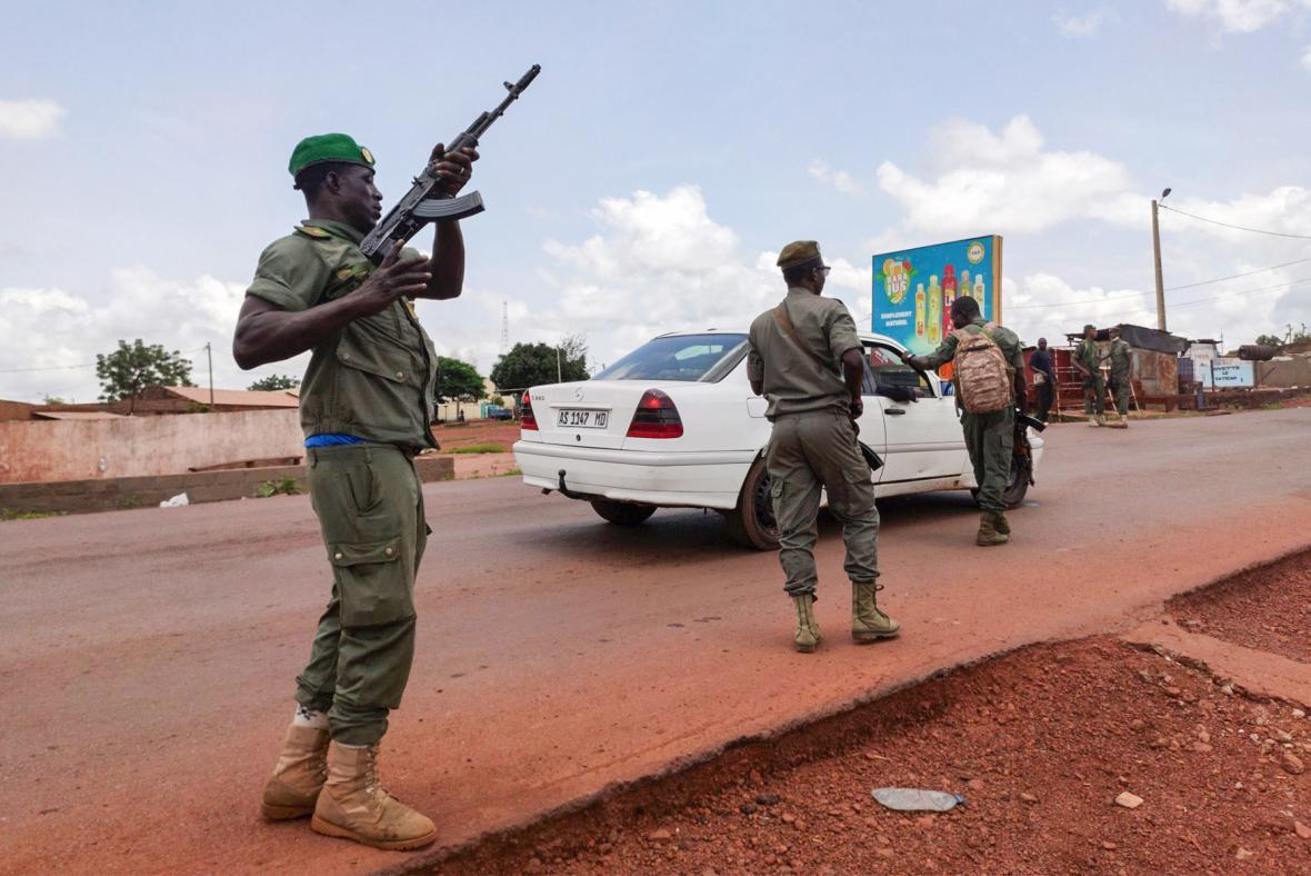 V Mali se vzbouřili vojáci