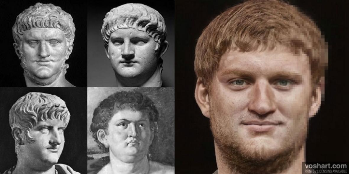Rekonstrukce podoby římských císařů - Augustus