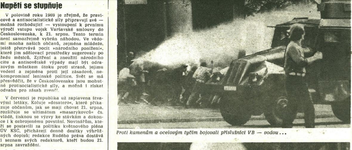Neprošli. Rudé právo k srpnu 1969