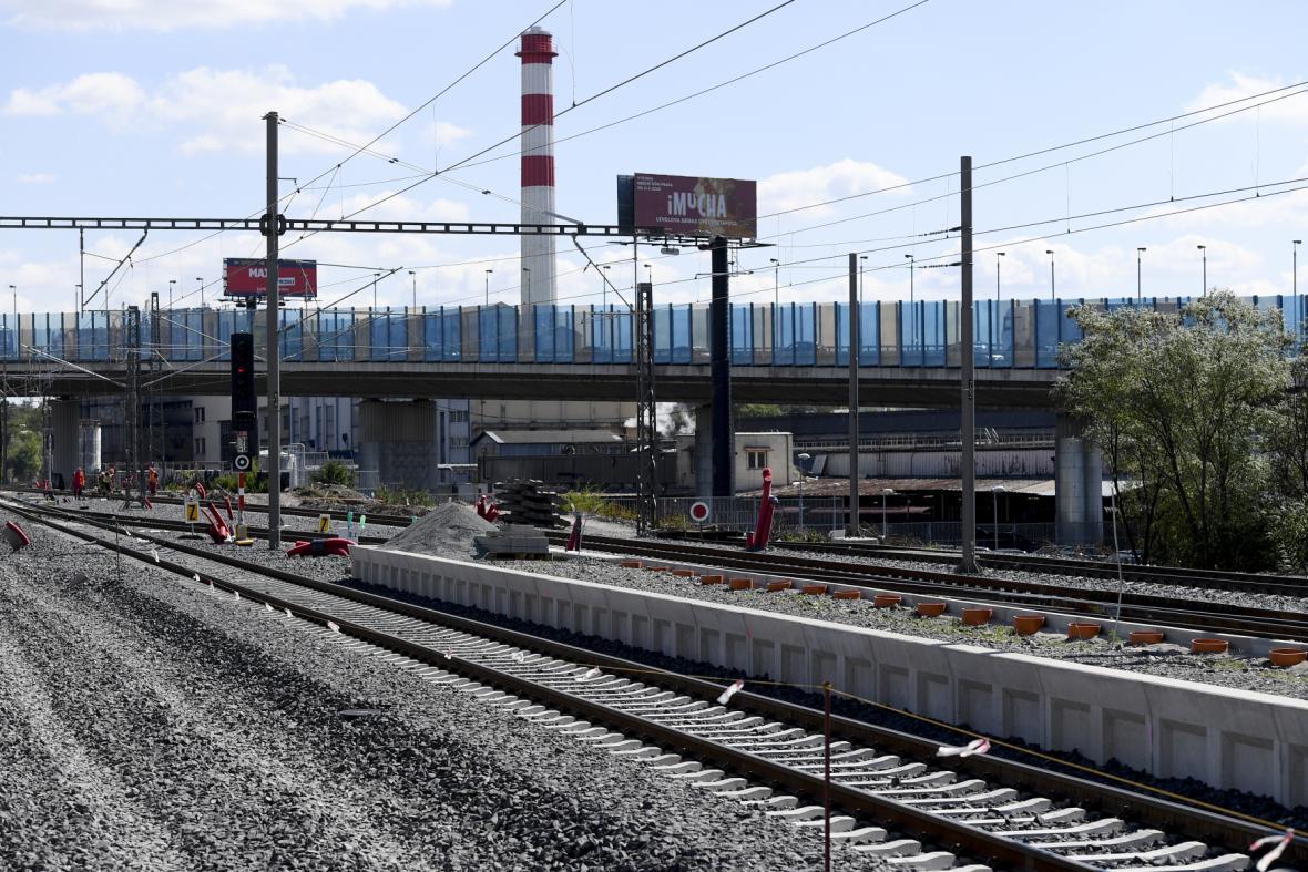 Modernizace trati do Hostivaře