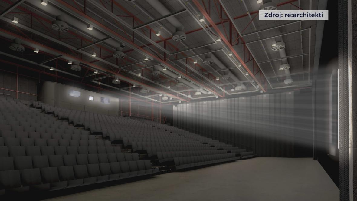 Vítězný návrh na rekonstrukci Velkého kina
