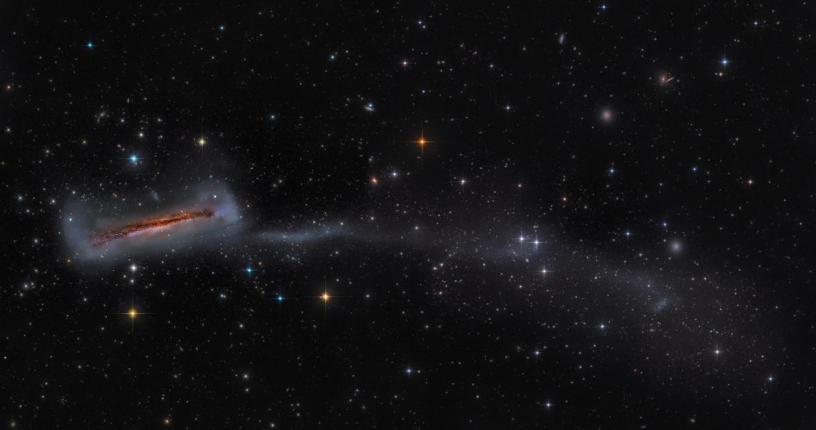 Andromeda Galaxy at Arm's Length © Nicolas Lefaudeux