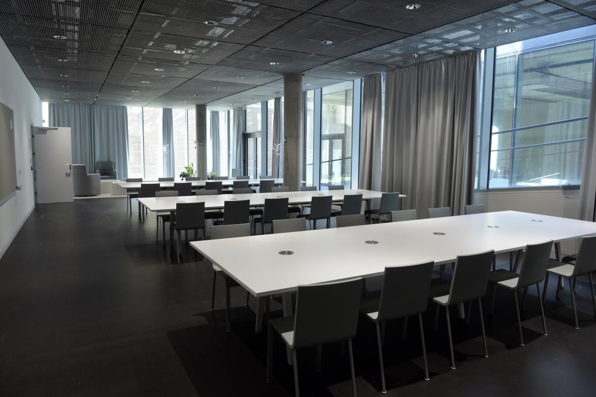 Univerzita Karlova 15. září 2020 otevřela v pražské Libni nové sídlo Fakulty humanitních studií
