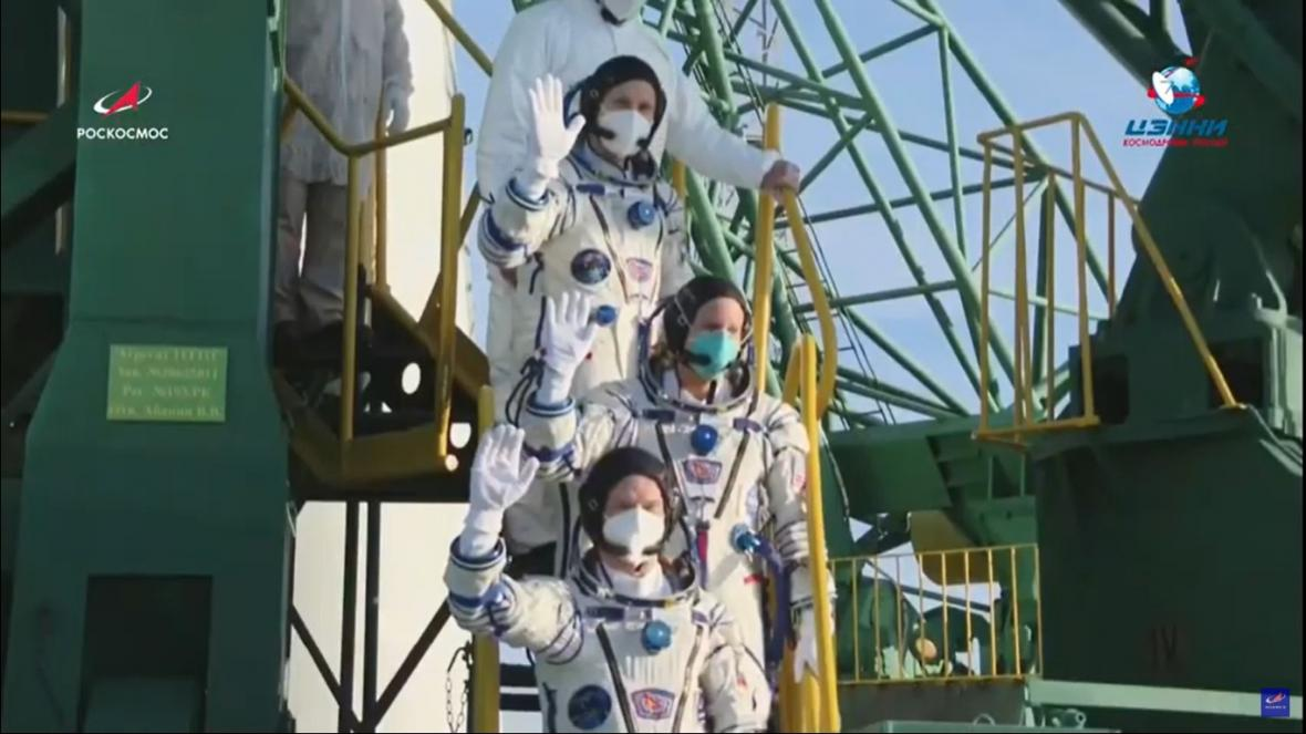 Start k ISS v době covidu