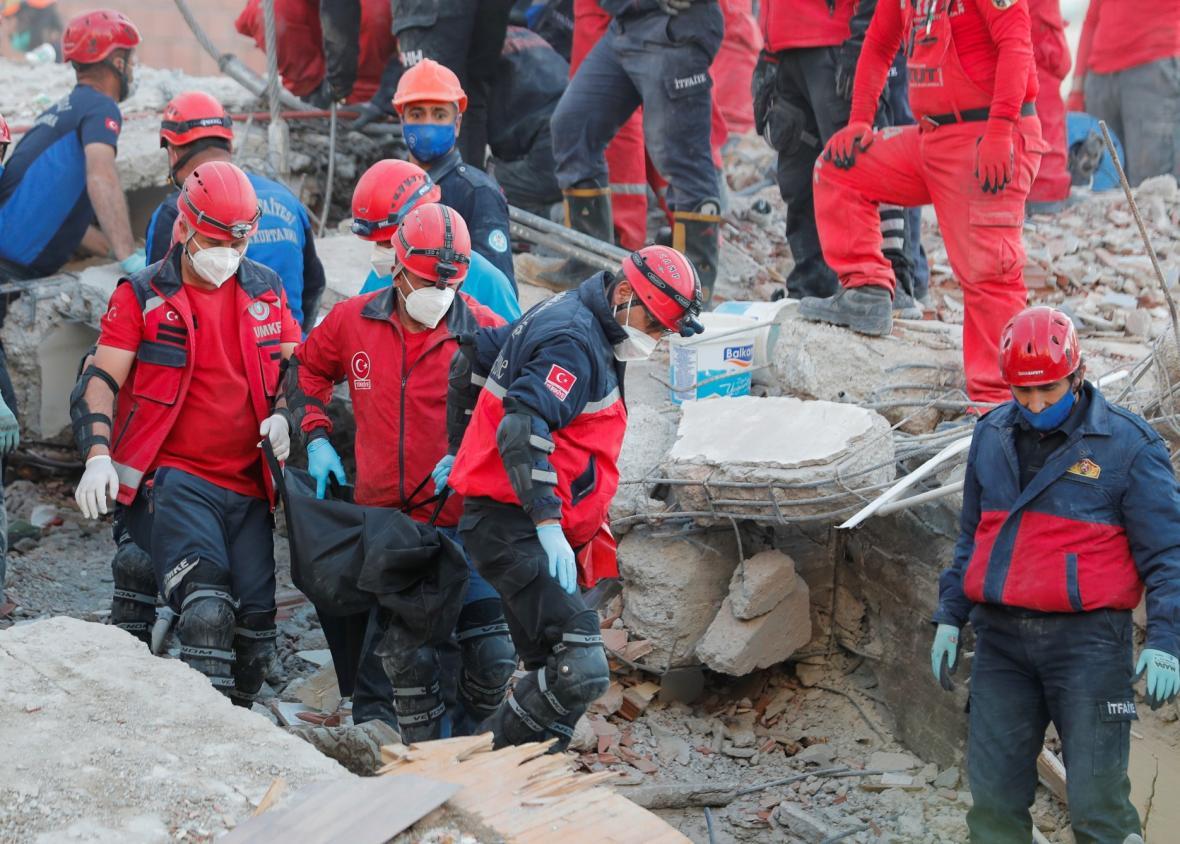 Následky zemětřesení v Turecku a Řecku