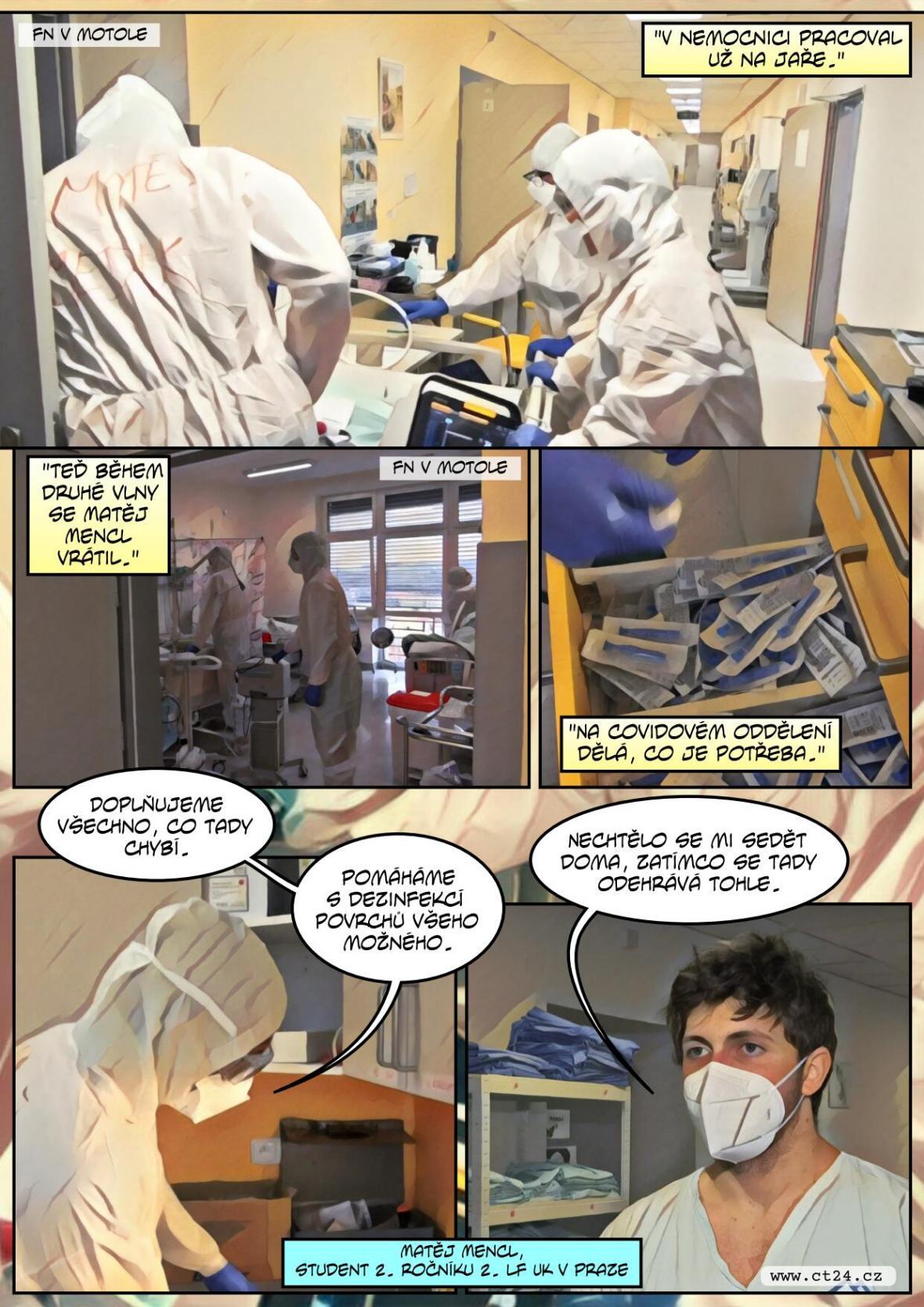 Medici v době krize pomáhají