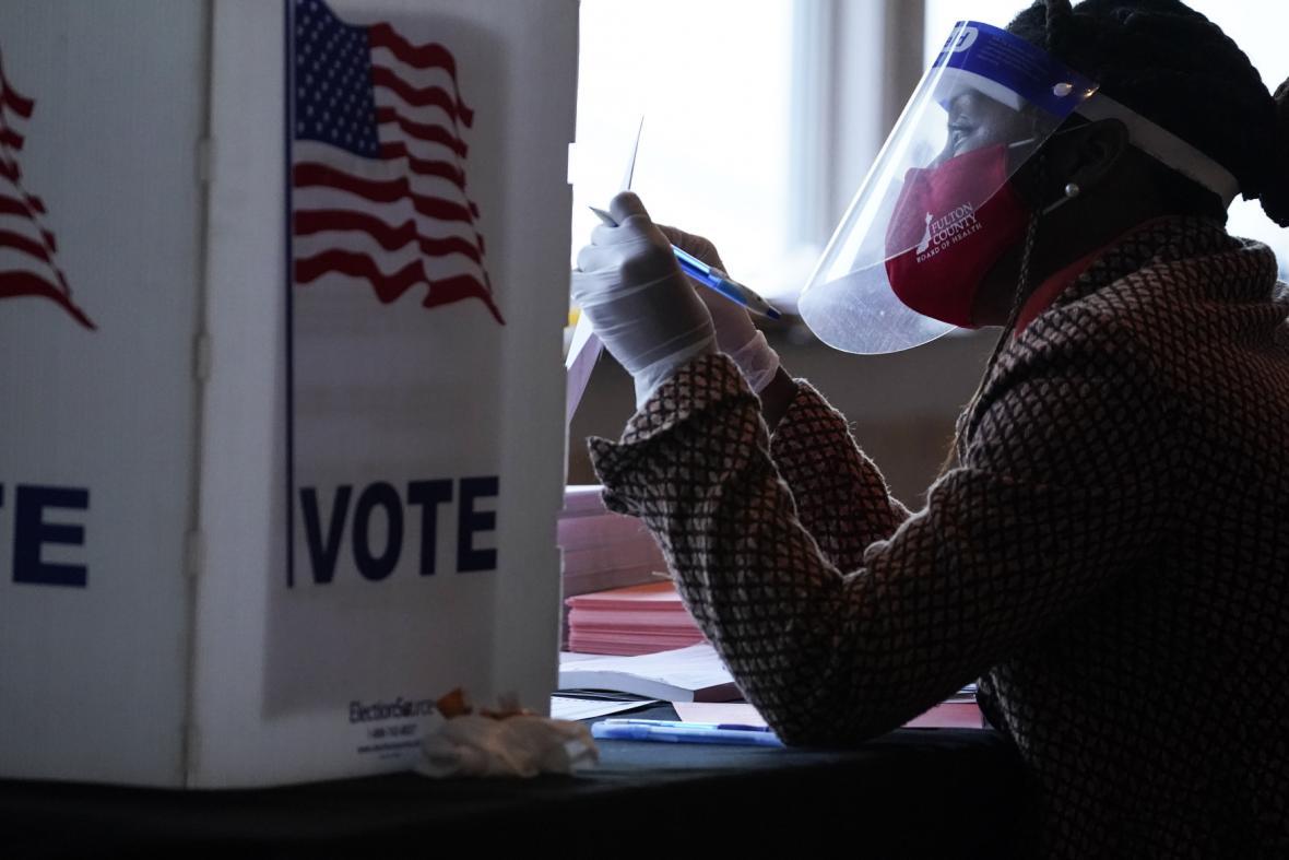 Volební komise v Atlantě