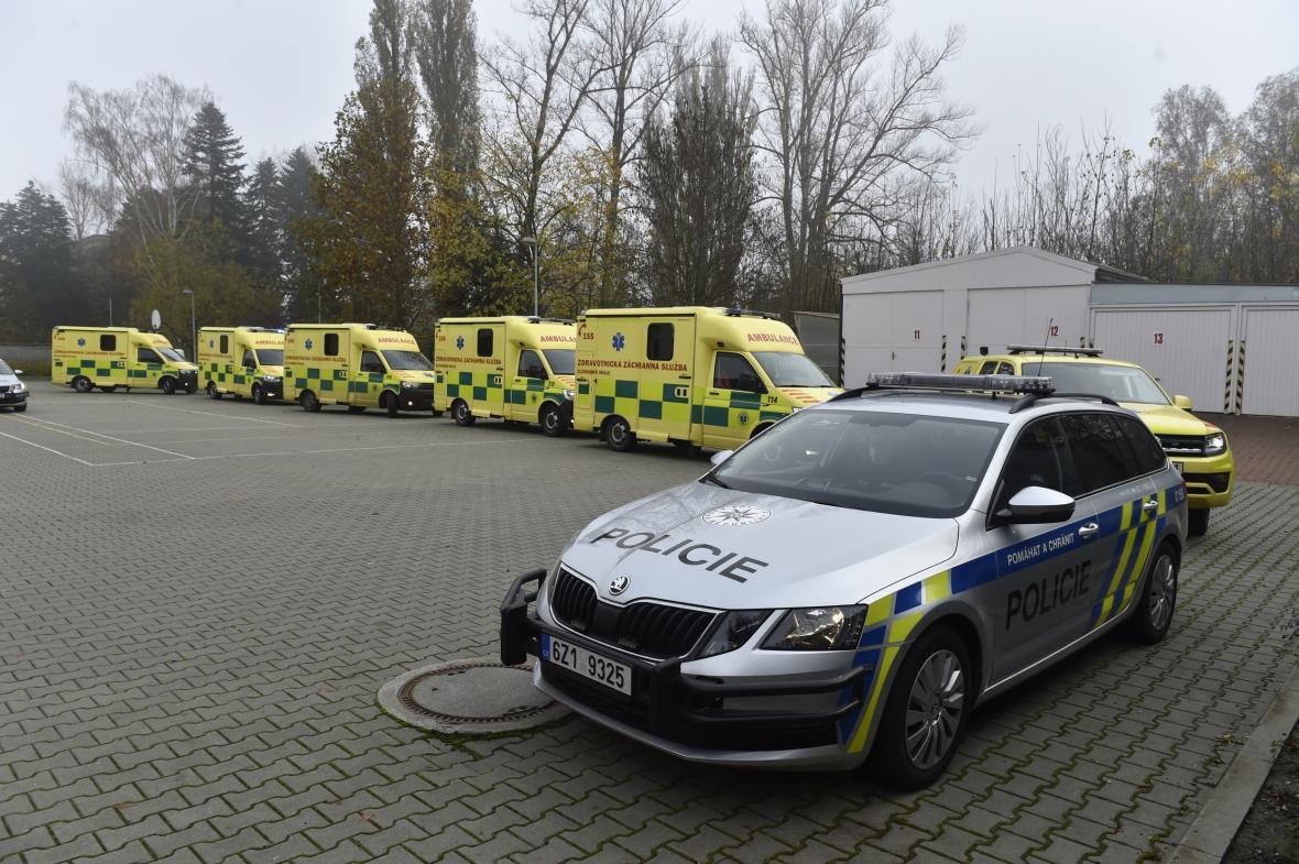 Převoz pacientů ze Zlínska do motolské nemocnice