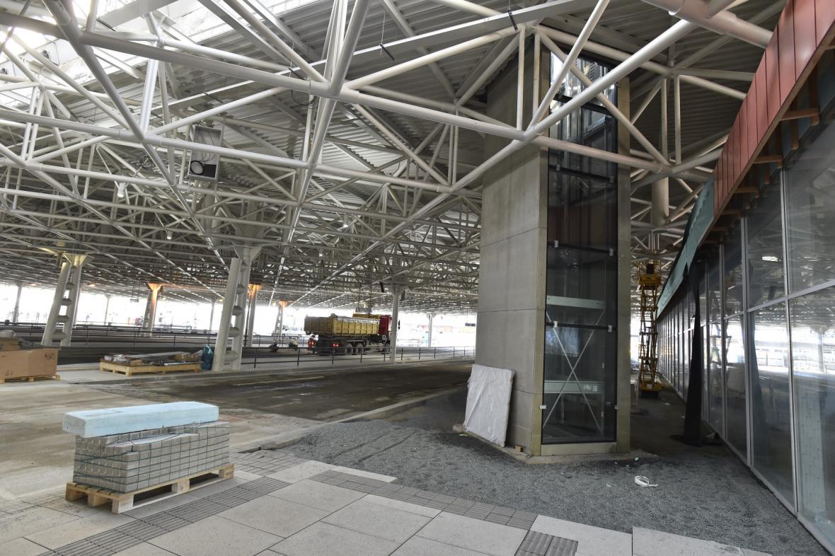 Rekonstrukce autobusového nádraží Zvonařka v Brně