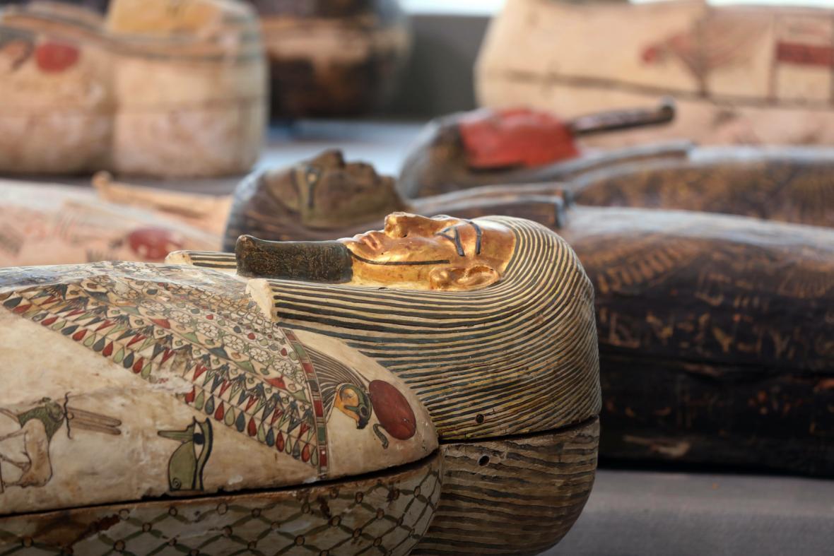 Nové nálezy ze Sakkáry