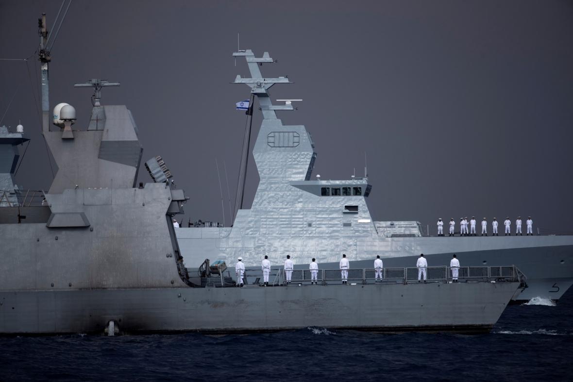 Izrael má ve výzbroji nové vojenské raketové čluny třídy Sa'ar 6. Námořnictvo převzalo první plavidlo ve městě Haifa